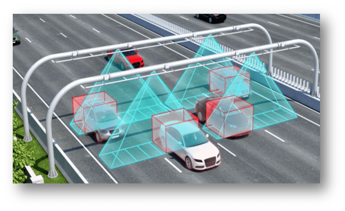 leddar for automated tolling
