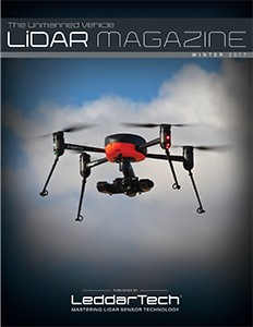 The Unmanned Vehicle Lidar Magazine by LeddarTech