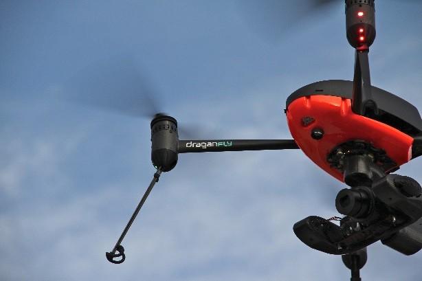 draganfly commander leddarone altimeter