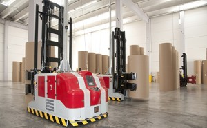 Leddar for forklifts and automated guided vehicles
