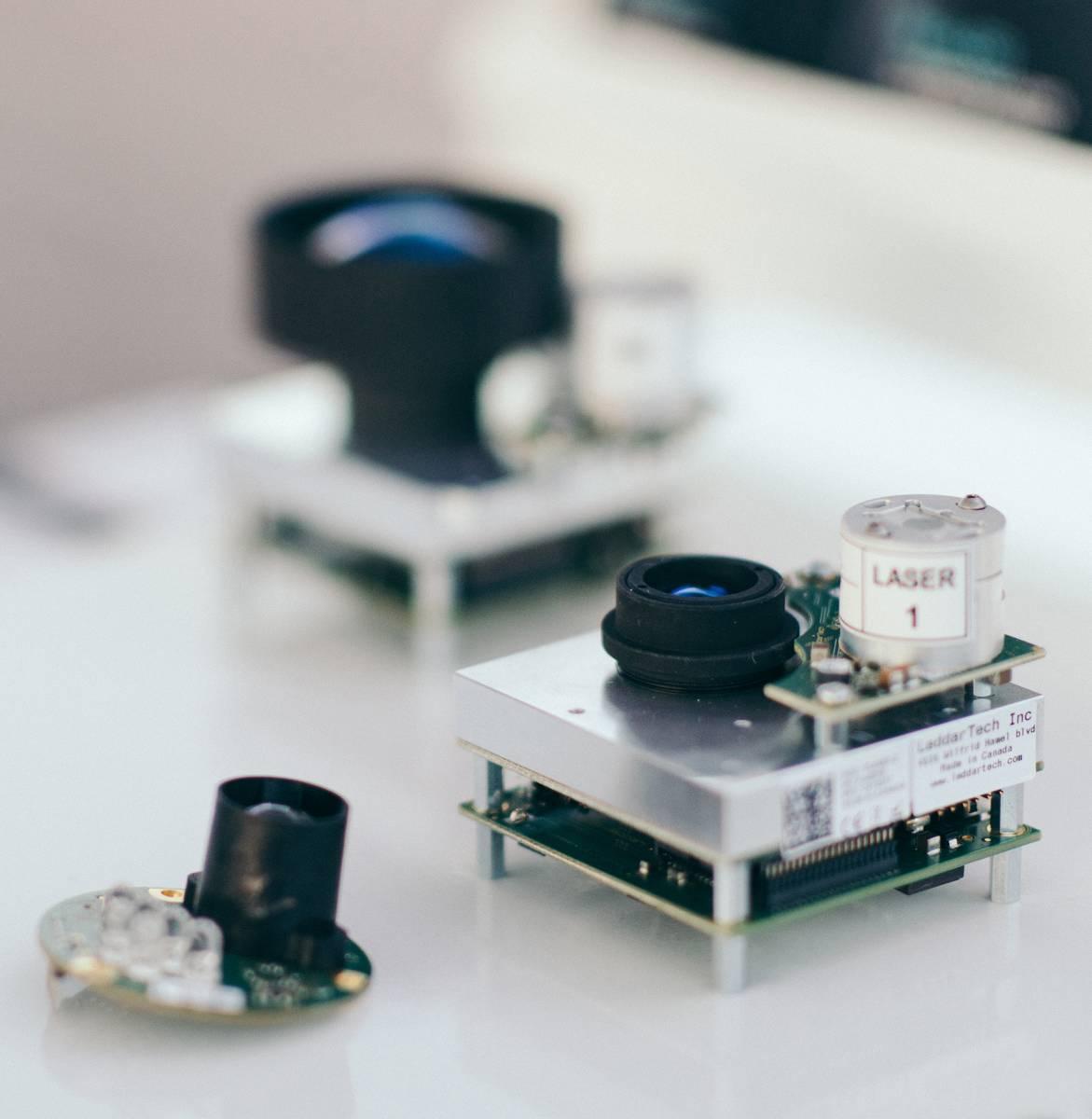 Solid State LiDAR sensor examples
