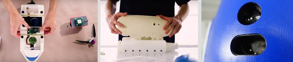 robota integrates leddarone